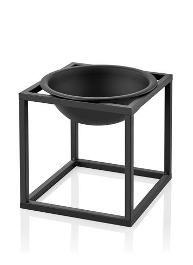 The Mia Dekor Siyah - 32 x 32 Cm Siyah